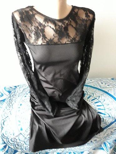 Nova haljina sa cipkanim detaljima L velicina, tegljiva, kupljena na
