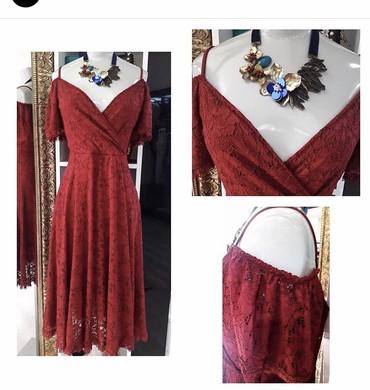 qirmizi gec donlari - Azərbaycan: Dress Kokteyl Dolce & Gabbana L