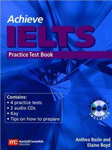 диаметр cd диска в Кыргызстан: Книга для подготовки к IELTSAchieve IELTS Practice Test Bookв