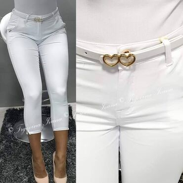 Pantalone do ispokolena - Srbija: Elegantne 3/4 pantalone 26 do 38
