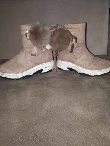 Теплые ботинки размер 36-37 качество отличное состояние отличное