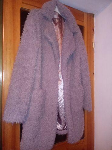 Reng solgun duşüb 44 46 48 razmere ikidefe geyilib palto evezide