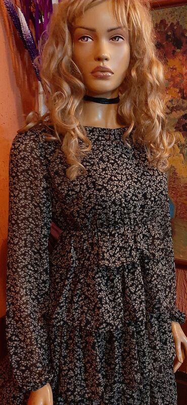 Haljina st - Srbija: Divna tunika haljina,cvetna,divno stoji vel 40