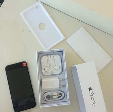 Bakı şəhərində Iphone 6 16 gb mat black, normal veziyyetdedir. Knopkalari ve apple is