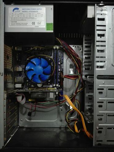 Системный блок:  1) Материнка—FOXCON H61MXE 1155 сокет.  2) Процессор—