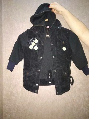 Куртка осенняя на девочку 5-6 лет в хорошом состояние в Кок-Ой