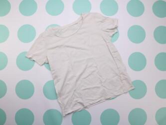 Женская базовая футболка Next, р. S-M    Длина: 58 см Пог: 45 см Матер