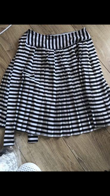 Siva suknja - Srbija: Plisirana suknja Novo - sivena velicina small/S !!! Prelepo stoji sa s