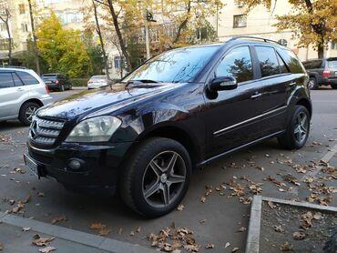 черный mercedes benz в Кыргызстан: Mercedes-Benz M-Class 3.5 л. 2006 | 163 км