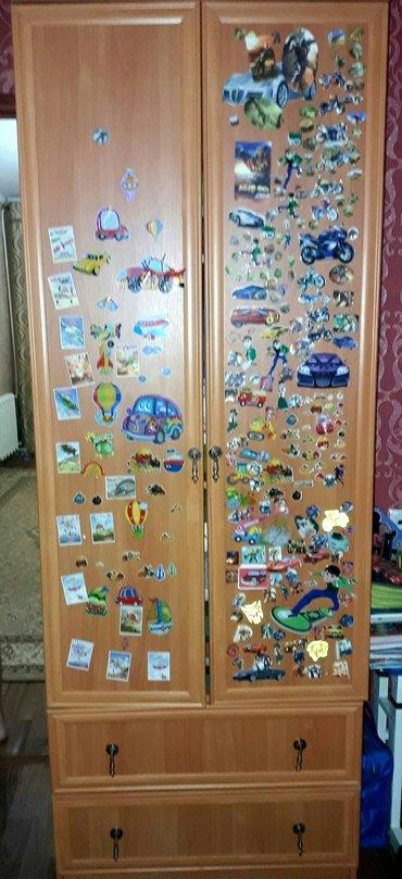 Продам детский шкаф...состояние идеальное(наклейки можно убрать)сынишк в Джалал-Абад