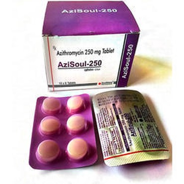 Order Azisoul-250 Tablets, 10x6 Tablets Online σε Kyparissia