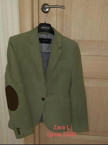 Пиджак от Zara woman  Цв.фисташка. Размер L Идеал. Новый