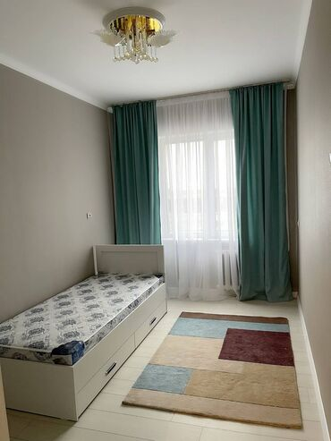Долгосрочная аренда квартир - 3 комнаты - Бишкек: 3 комнаты, 67 кв. м С мебелью