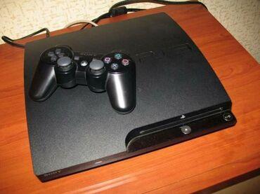 Sony ps3 slim прошитый установленны топовые игры . В комплекте все