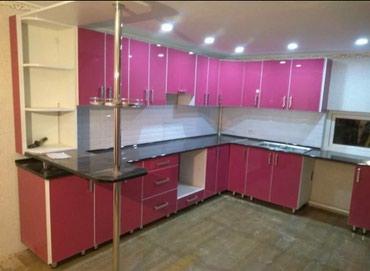 Кухонный гарнитур делаем на заказ в Бишкек