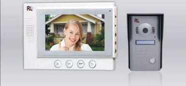 Interfon sa 17mm tankim ekrenom, 7 inči dijagonala ekrena. • Kamera
