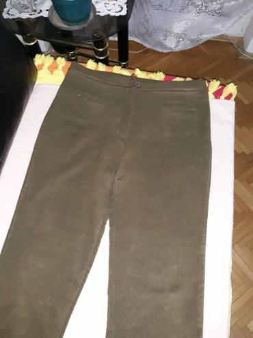 Pantalone rastegljive maslinasto zelene vel.2xl 500din. - Pozarevac