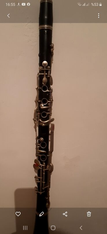 Флейты - Азербайджан: A klarnet aqac.700 az.real alicya endrim olar