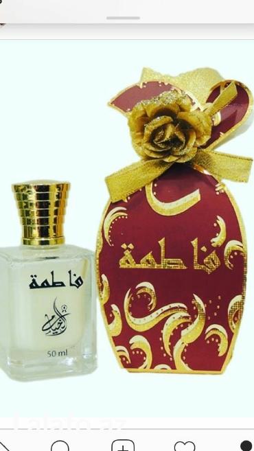 Etir orginal parfum duxi Fatime etri-salonlara munasib qiymete- et