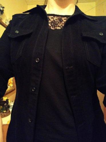 Ostalo   Knjazevac: Malo deblja crna kosulja,moze da se nosi kao sako. ukoliko porucite