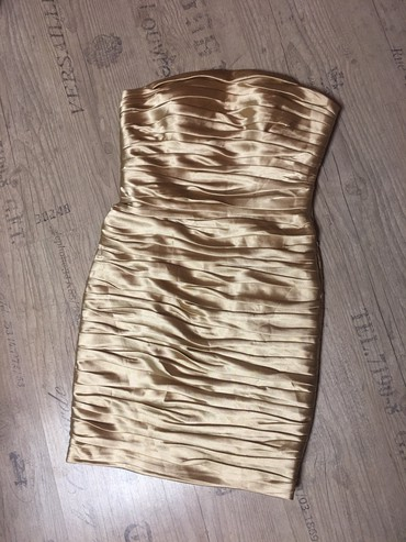 золотое платье большого размера в Кыргызстан: Платье Коктейльное FOX L