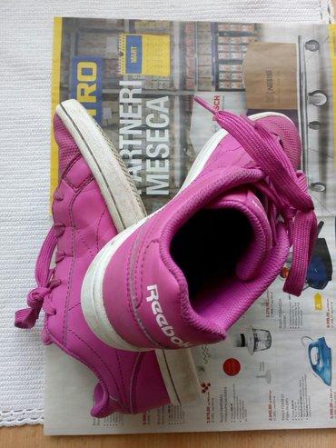 Dečije Cipele i Čizme | Vrbas: Reebok kožne patike za devojčice broj 35.Bez oštećenja pošto su jednom