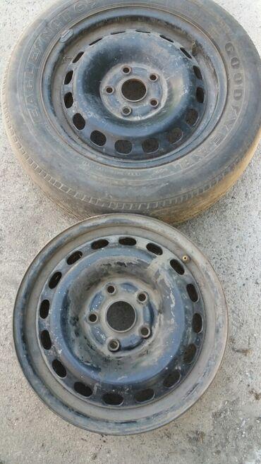 диски на ауди 100 в Кыргызстан: Диски+ шина Ауди_100