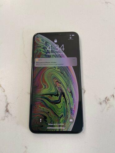 IPhone Xs Max | 256 ГБ | Черный | Новый | Гарантия, Две SIM карты, Face ID