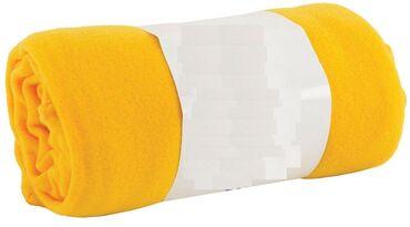 Flis ćebe žuto 130x160cm.Crmo,crvemo,lkubicasto,bez,belo.Ako zelite da