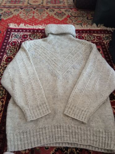 Личные вещи - Дмитриевка: 100% шерстяной свитер женский, размер XL,XXL