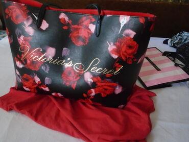 Nju jorkeru - Srbija: Nova original Victoria's Secret prelepa, ceger torba. Baš je ogromna