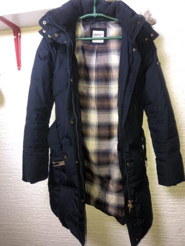 Zimska-jakna-sa-krznom - Srbija: Esprit zimska jakna, ima kapuljacu sa krznom.  Velicina 36. Jako lepo