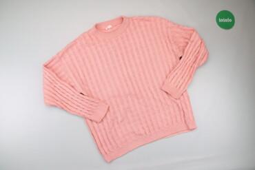 Жіночий светр однотонний, р. М   Довжина: 62 см Довжина рукава: 51 см