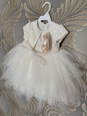 plate na 10 11 let в Кыргызстан: Продаю платье, производство Турция, размер на 1 год, в идеальном