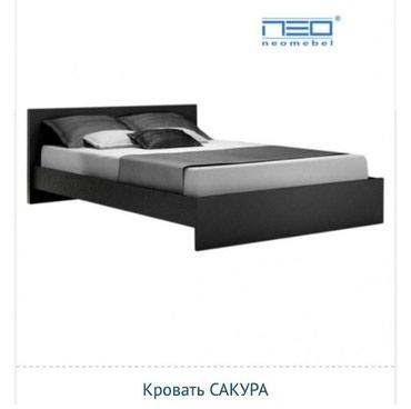 "Кровать ""Сакура"" Размер 2*160 2*180 Каркас железный в Бишкек"