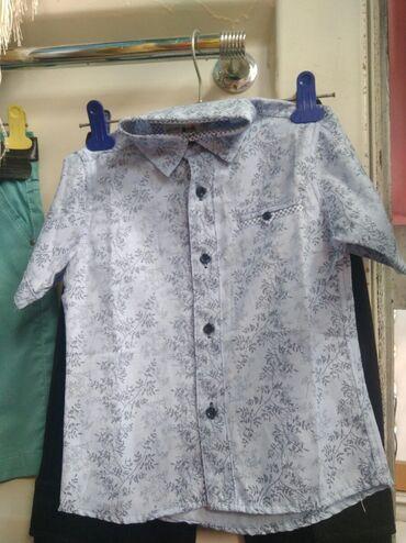 стойки для тельфера в Кыргызстан: Рубашка для мальчика турецкий хороший качество размер для 10 лет