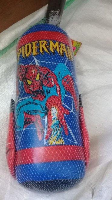 Боксерские груши в Азербайджан: Spiderman qrusa uşaq üçün kiçik ölçülü