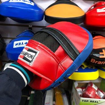 Боксерские груши в Кыргызстан: Продаётся лапа боксёрский. Есть много разных видов. Вы можете посмотре