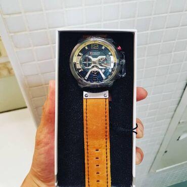 curren 8158 в Кыргызстан: Мужские наручные часы CURREN 8329 модель 2020. Роскошные черные