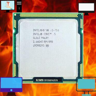Kompüter ehtiyyat hissələri - Azərbaycan: Intel® Core™ i5-750 Processor 8M Cache, 2.66 GHz1156 soketi üçün
