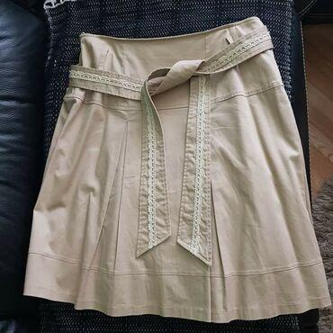 Mona suknja - Srbija: Ženska MONA suknja,jednom nošena, broj 44!