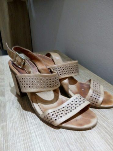 Braon kozne sandale broj pitajte - Srbija: Kozne sandale 37