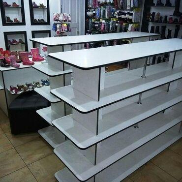 Мебель на заказ в Кыргызстан: Полки для магазинов