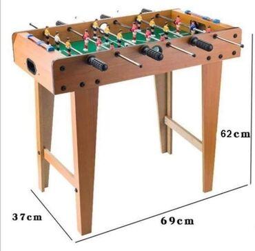Sport i hobi - Pozarevac: Veliki drveni stoni fudbal sa nogarimaVrhunska igracka za sobu koja ce