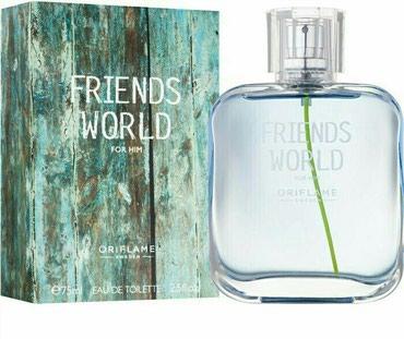lego friends konstruktorları - Azərbaycan: Friends World For Him tualet suyu 75ml. (33384)Oriflame, faberlic və