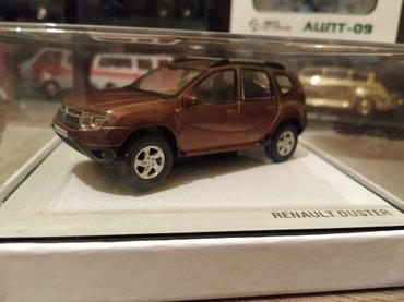 промо модель в Кыргызстан: МАСШТАБНАЯ МОДЕЛЬ автомобиля RENAULT DUSTER масштаб 1:43