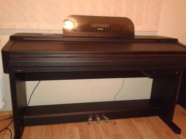 Elektricni klavir casio celviano ap7 prodajem prekrasni digitalni - Beograd