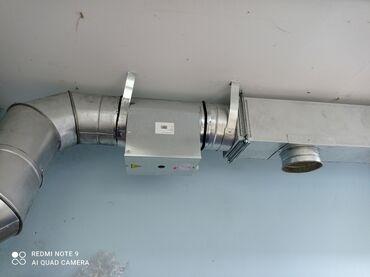 вытяжки для кухни бишкек в Кыргызстан: Жестяной цех бардык турлорун жасайбыз замер установка вытяжки