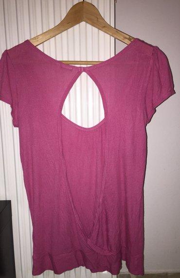 Φούξια Μπλούζα benetton ελαφρά γυαλιστερό σε Υπόλοιπο Αττικής - εικόνες 2