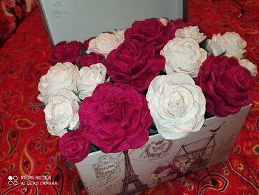 Личные вещи - Новопавловка: Бумажные красивые цветы. Подойдёт для подарка